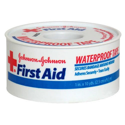 Johnson & Johnson First Aid Waterproof Tape (Pack of 2)