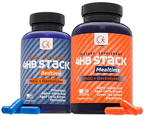Premium PAGG Stack by Kirkland Science Labs - PAGG + Electrolytes - For Slow Carb Diet - Accelerate Your Weight Loss and Reach Your Goals Faster - No Risk Guarantee