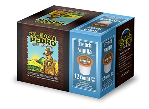 Cafe Don Pedro   72 Ct. French Vanilla Arabica Low Acid Coffee Pods