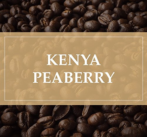 Kenya Peaberry Plus Rwaikamba Co-op Ngutu 100% Arabica Coffee Beans (Light Roast (City), 5 pounds Whole Beans)