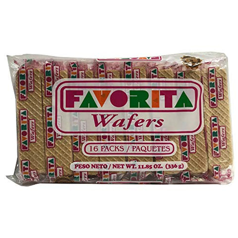 Favorita Wafers 16 Pack
