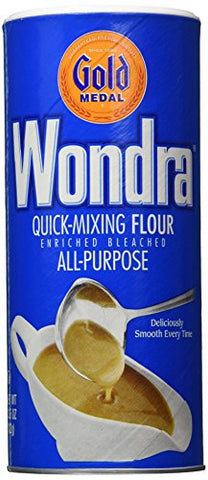 Wondra All Purpose Quick-Mixing Sauce 'N Gravy Flour 13.5 oz (Pack of 2)