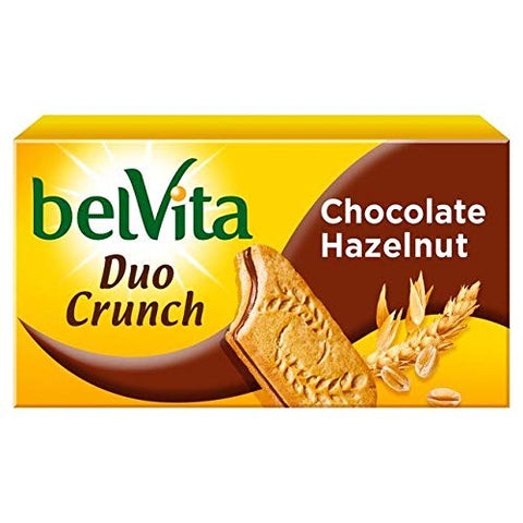 Belvita Chocolate Hazelnut Sandwich Breakfast Biscuit - 253g (0.55 lbs)