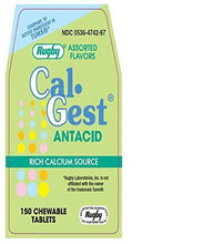 RUGBY LABS CAL-GEST Calcium Carbonate 500 mg Chewable Tablets 150 Count by MAJOR RUGBY LABS