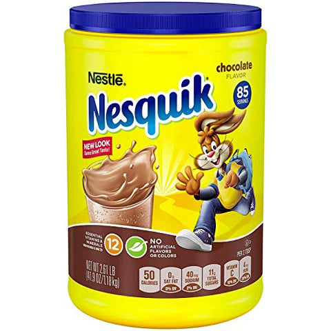 Nestle Nesquik Chocolate-Flavored Powder (2.61 lb.) - Flavor of your choice