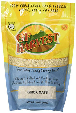 GF Harvest Gluten Free Quick Oats, 20 Ounce