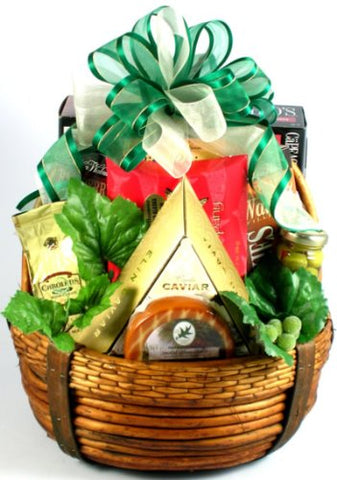 The Distinguished Gentleman, Gourmet Gift Basket For Men