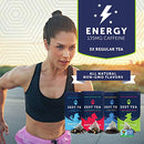 Image of Zest Tea Premium Energy Hot Tea, High Caffeine Blend Natural & Healthy Black Coffee Substitute, Perf