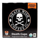 Image of Death Wish Single Serve Coffee Pods for K-Cup Style 2.0 Brewers, USDA Certified Organic & Fair Trade (50 Count Bulk Value)