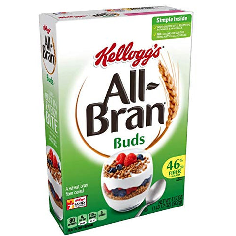 Kellogg's All-Bran Bran Buds Cereal - 17.7 oz