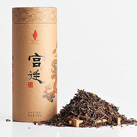 Brown Mountain Palace Pu Er Tea Old Tree Stale Puerh Tea 100g