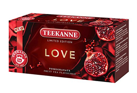 3x Teekanne Love Pomegranate (each box 20 tea bags)