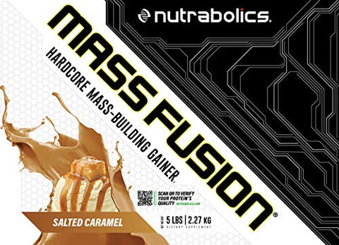 Nutrabolics Mass Fusion (Salted Caramel, 5 Ib (9 Servings))