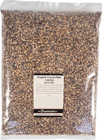 Malt - British Crystal 135/165L - 1 lb Milled