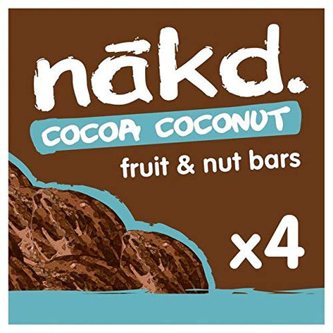 Nakd Cocoa Coconut Multipack - 4 x 35g