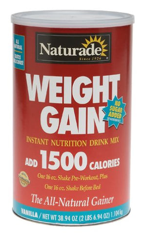 Naturade Weight Gain No Sgr Add