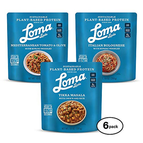 Loma Linda Mediterranean Inspired Variety Meals - (10 oz.) (Pack of 6)