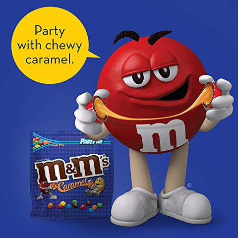 M&M'S Caramel Chocolate Candy Party Size 34-Ounce Bag