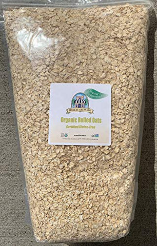 Bakery on Main, Happy Oats, Organic Rolled Oats, 7.5 lb bulk bag (2 Count)