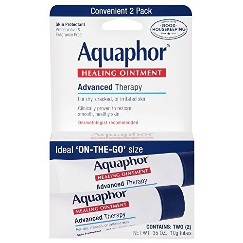 Aquaphor Healing Skin Ointment, Advanced Therapy, (Each 2 Count Of 0.35 Oz Tubes) 0.7, Pack Of 3