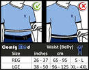 "Image of ComfyMed Breathable Mesh Back Brace CM-SB01 (REG 26"" to 37"")"