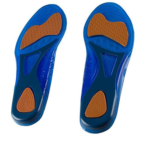 PRO 11 WELLBEING T-Bone Professional Series Gel Massaging Insoles (7/12 UK)