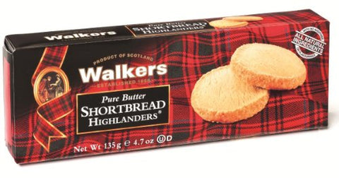 Walkers Shortbread Highlanders, 4.7-Ounce Boxes (Pack of 12)
