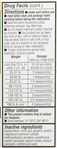 REESE'S PIN Worm Medicine 1 OZ PYRANTEL PAMOATE Suspension -(Pack of 3)