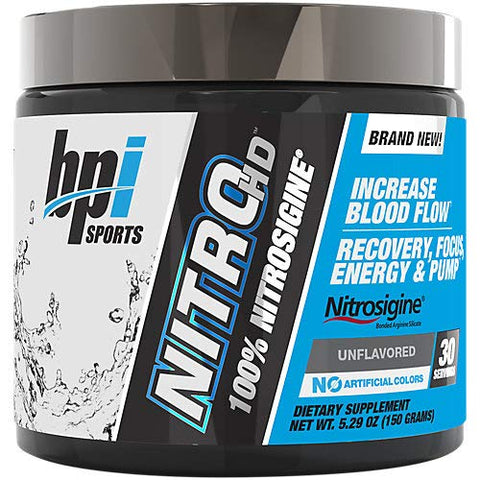 Nitro HD Nitrosigine PreWorkout Unflavored (30 Servings)