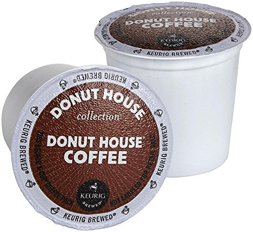 Donut House Collection Light Roast K-Cup Pods Donut House Coffee - 18 CT
