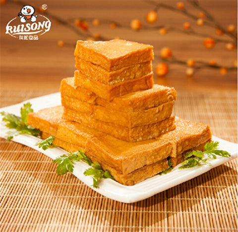 Qyz@ Chinese Special Snack Food:fish Tofu