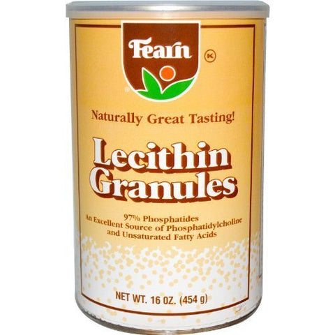 Fearns Soya Food Fearn Lecithin Granules - 16 oz by FEARNS SOYA FOOD