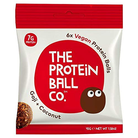 The Protein Ball Co. Goji & Coconut Protein Balls - 45g (0.09 lbs)