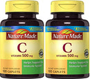 Image of Nature Made Vitamin C 500 mg Caps, 100 ct (Pack of 2)