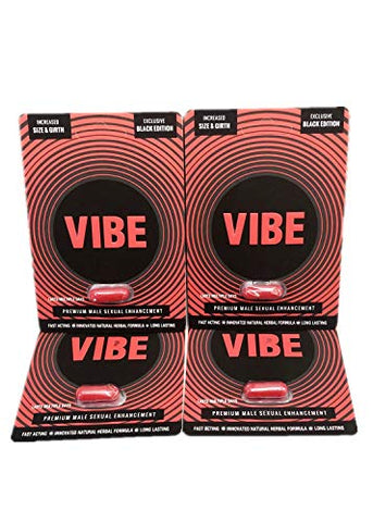 The Original Black Red Vibe Premium Energy Enhancement Performance Booster Pills (4)
