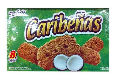 Marinela Caribenas Coconut Cookies 20.1 Oz