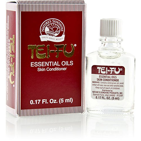 Nature's Sunshine Tei Fu Essential Oil.17 Fl Oz Pure Essential Oil Blend To Alleviate Minor Aches An