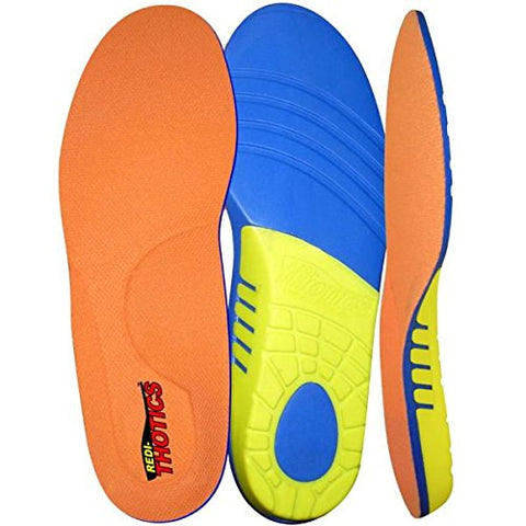 Redi Thotics Control   Semi Firm Arch Supports Size: A: Women 6 7.5 / Men 5 6.5