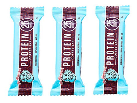 Coffee Protein Bar, 25g Protein, 2.1 oz ea. (3 Pack)