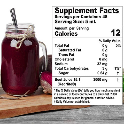 Ultra Beets, Circulation Superfood Concentrated Beet Powder Nitric Oxide Boosting Premixed Supplement, 8 Ounce