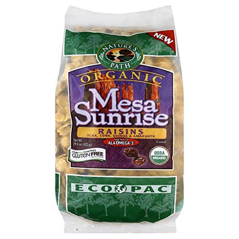 Nature's Path Organic Mesa Sunrise with Raisins Cereal, 29.1-ounce Bags (Pack of 6)