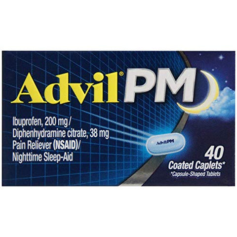 Advil PM 200 mg Coated Caplets 40 ea