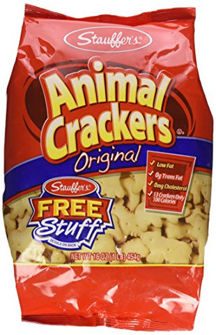 Stauffer's Animal Cracker 16 OZ (Pack Of 12)