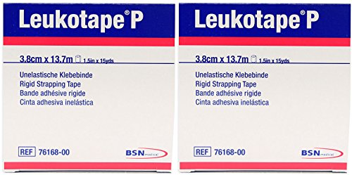 "Leukotape P Sports Tape - 1.5"" x 15 Yards - Pack of 2"
