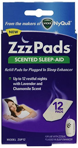 ZzzQuil Plugged in Sleep Enhancer Refill Pads, 0.05 Pound