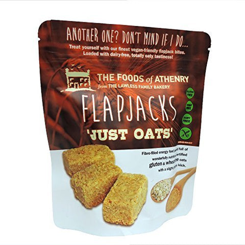 The Foods of Athenry - Flapjacks - Just Oats - 150g (Case of 12)