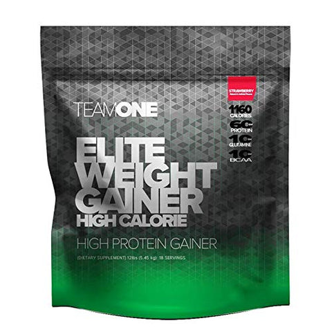 Team ONE Elite Weight Gainer (Strawberry) 12lbs