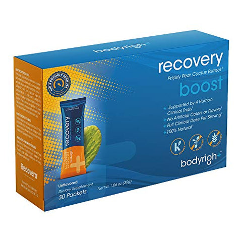 BodyRight Recovery Boost - Unflavored - 30 Stick Packs