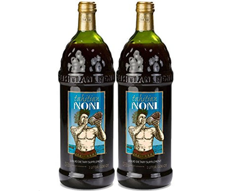 TAHITIAN NONI Juice by Morinda 2PK Case, Two 1 Liter Bottles per Case