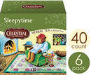 Image of Celestial Seasonings Herbal Tea, Sleepytime, 40 Count Box (Pack of 6)